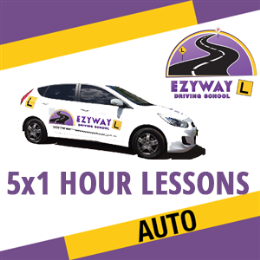 5 x 1 Hour Automatic Lessons + FREE HYPNOSIS